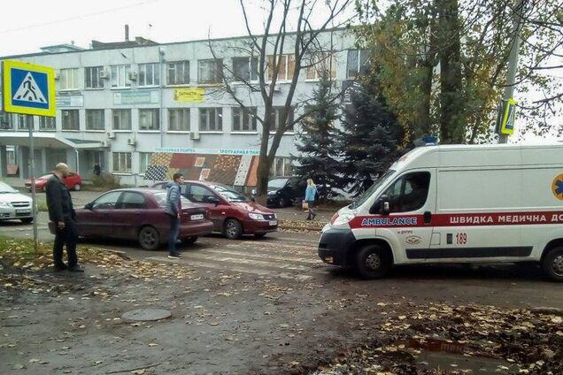 В Днепре возле школы сбили ребенка