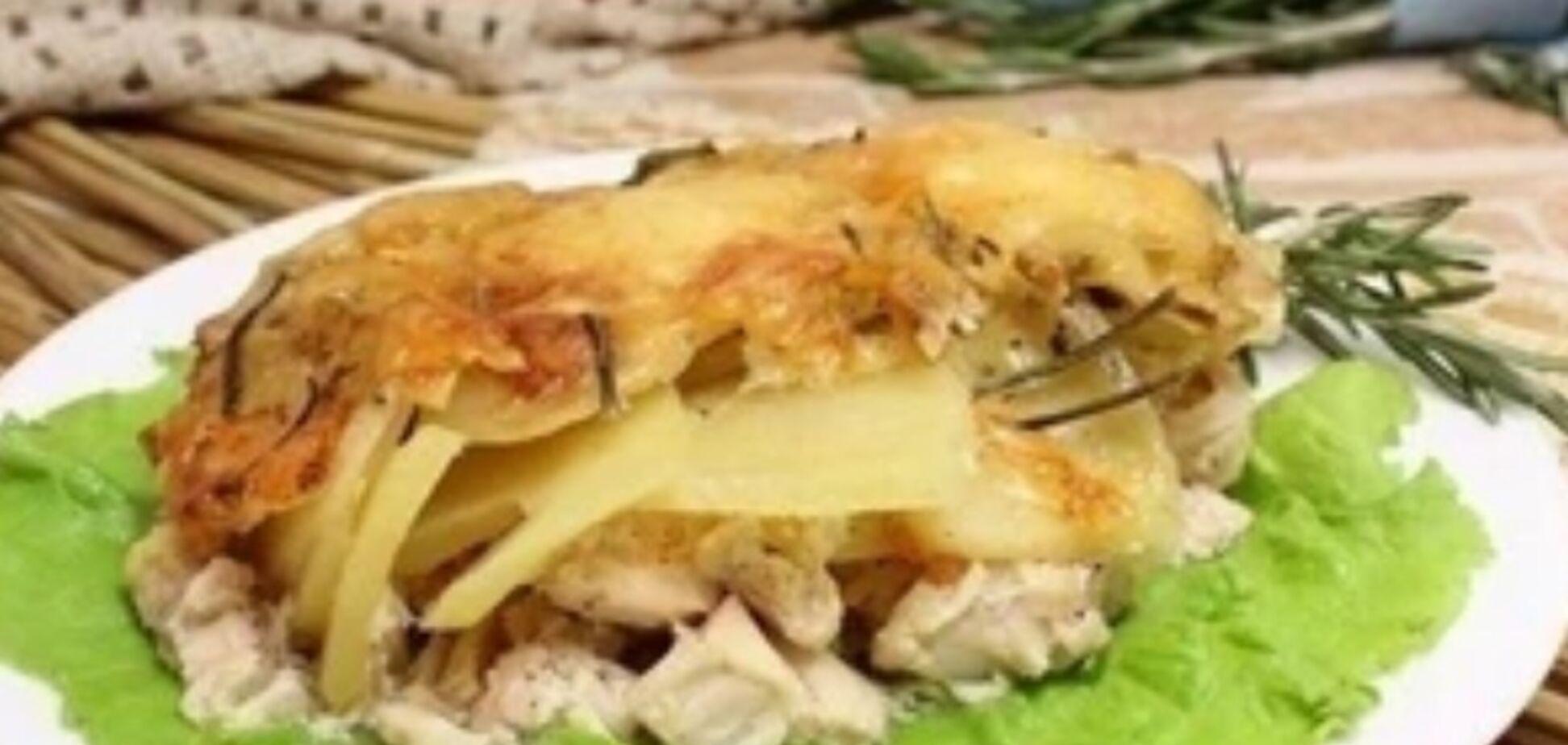 Рецепт смачної страви з картоплею і баклажанами