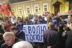 В Киеве под посольством Польши устроили бунт из-за ветерана АТО: фото и видео с места