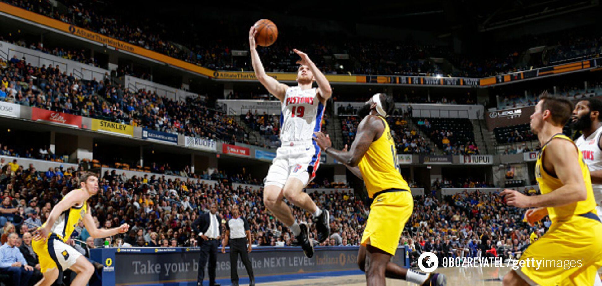 Українець Михайлюк провів успішний матч в НБА
