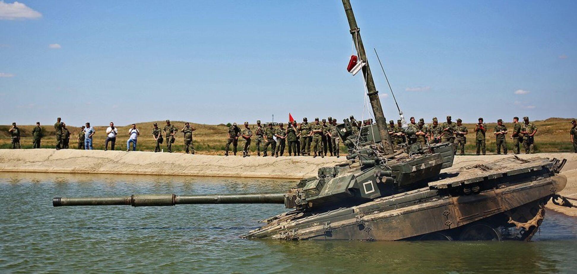 Росія зазнала фіаско з хваленими танками Путіна в Індії