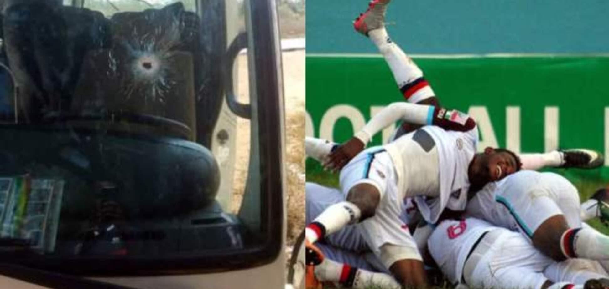 Автобус с футболистами попал под смертельный обстрел