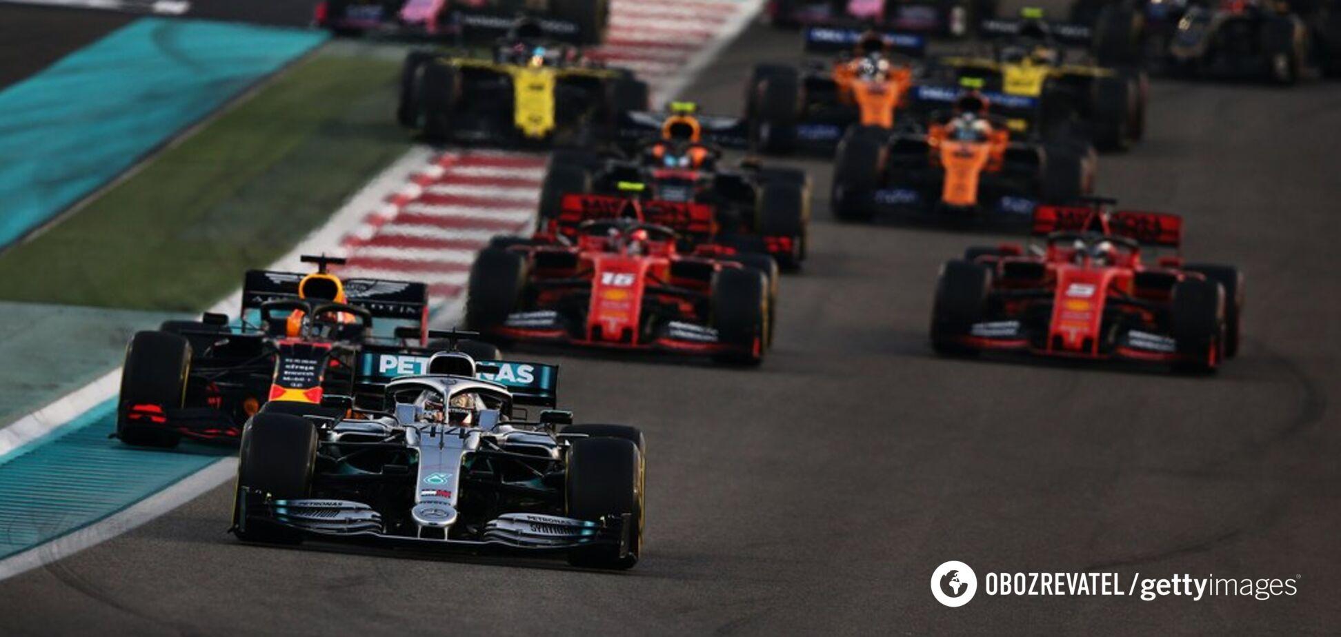 У Формулі-1 відбулася остання гонка сезону