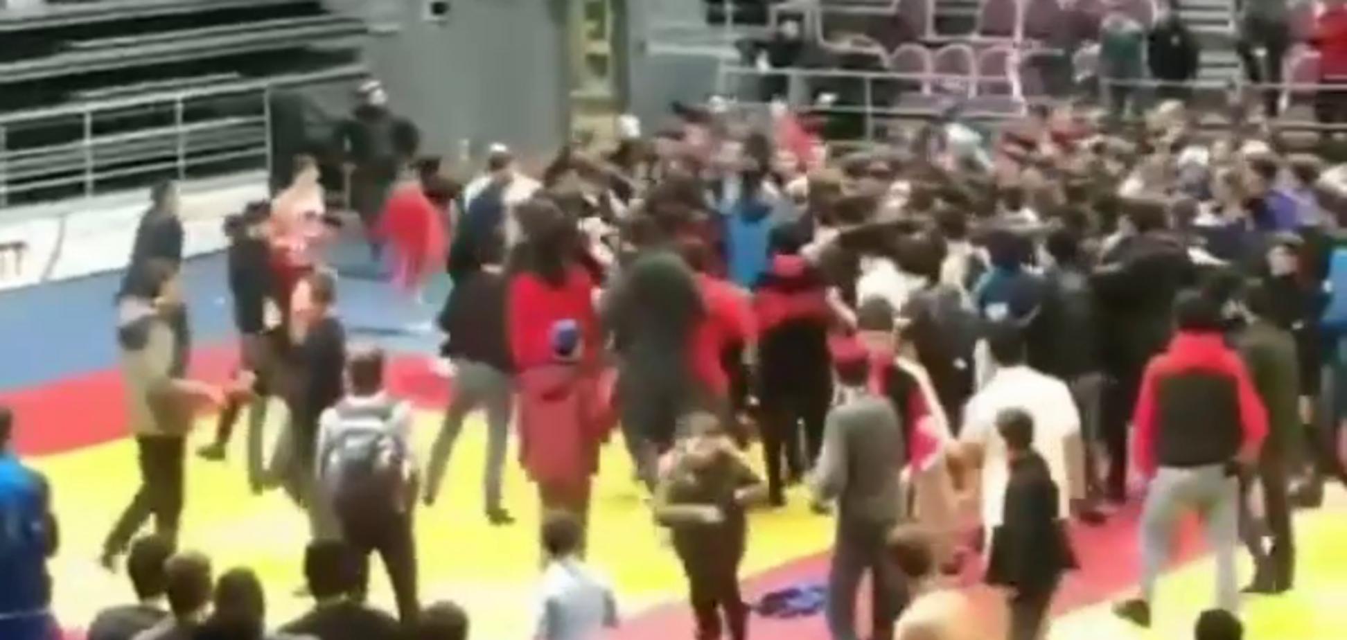 Турнір в Росії завершився грандіозною бійкою