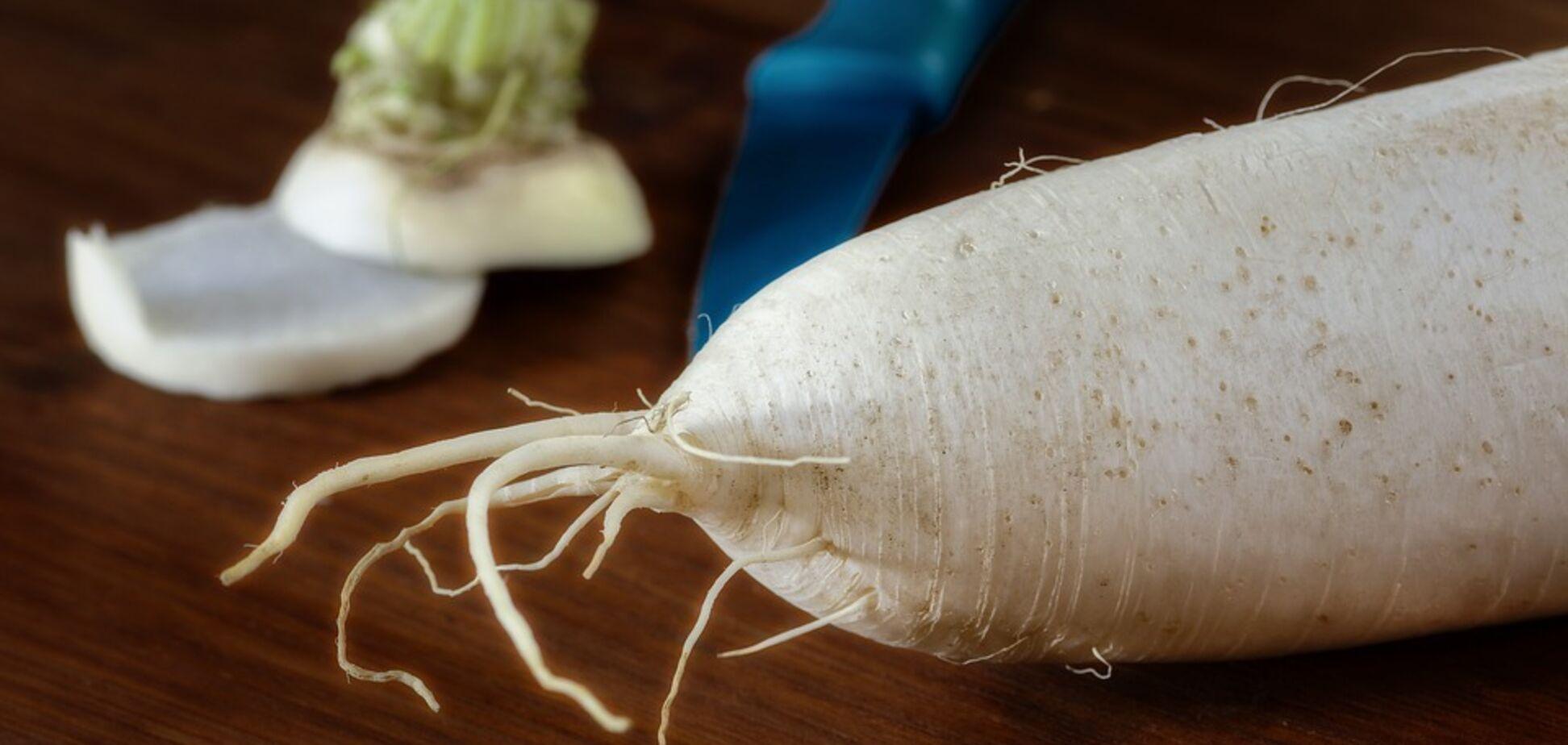 Рецепт дивовижного вітамінного салату з редькою
