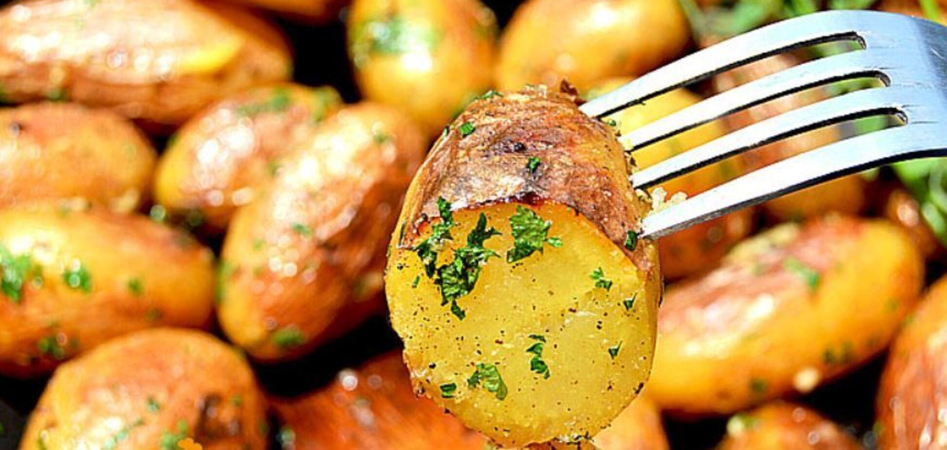 Восхитительная печеная картошка: рецепт с секретом
