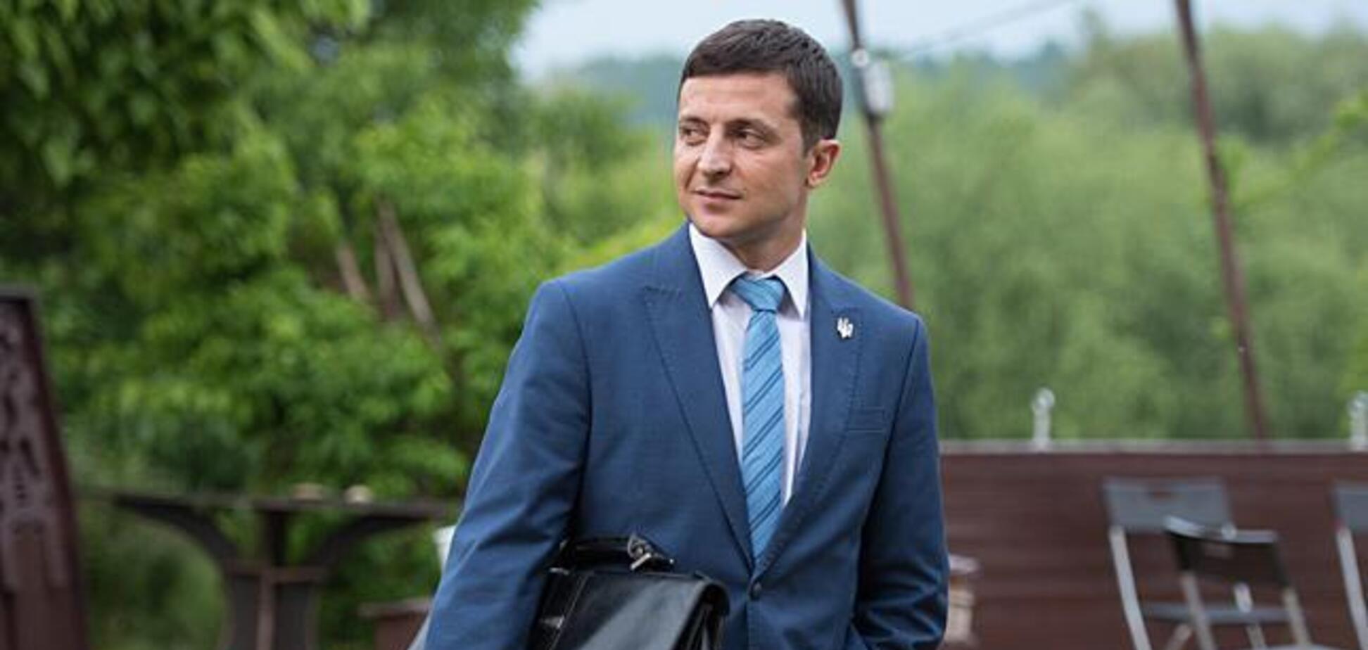 Володимир Зеленський в серіалі