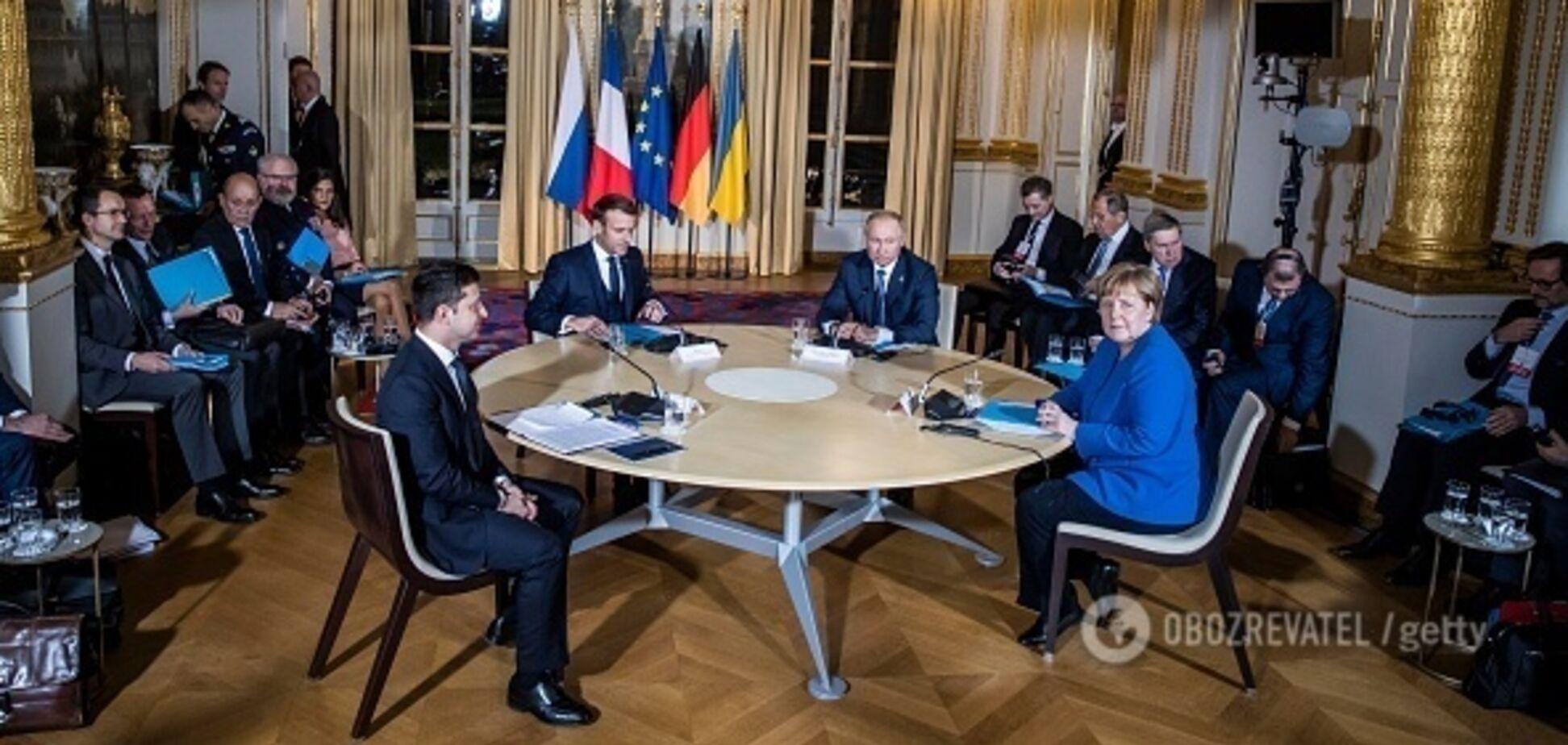 'Только Меркель с яйцами!' Фото лидеров нормандской четверки 'взорвало' сеть