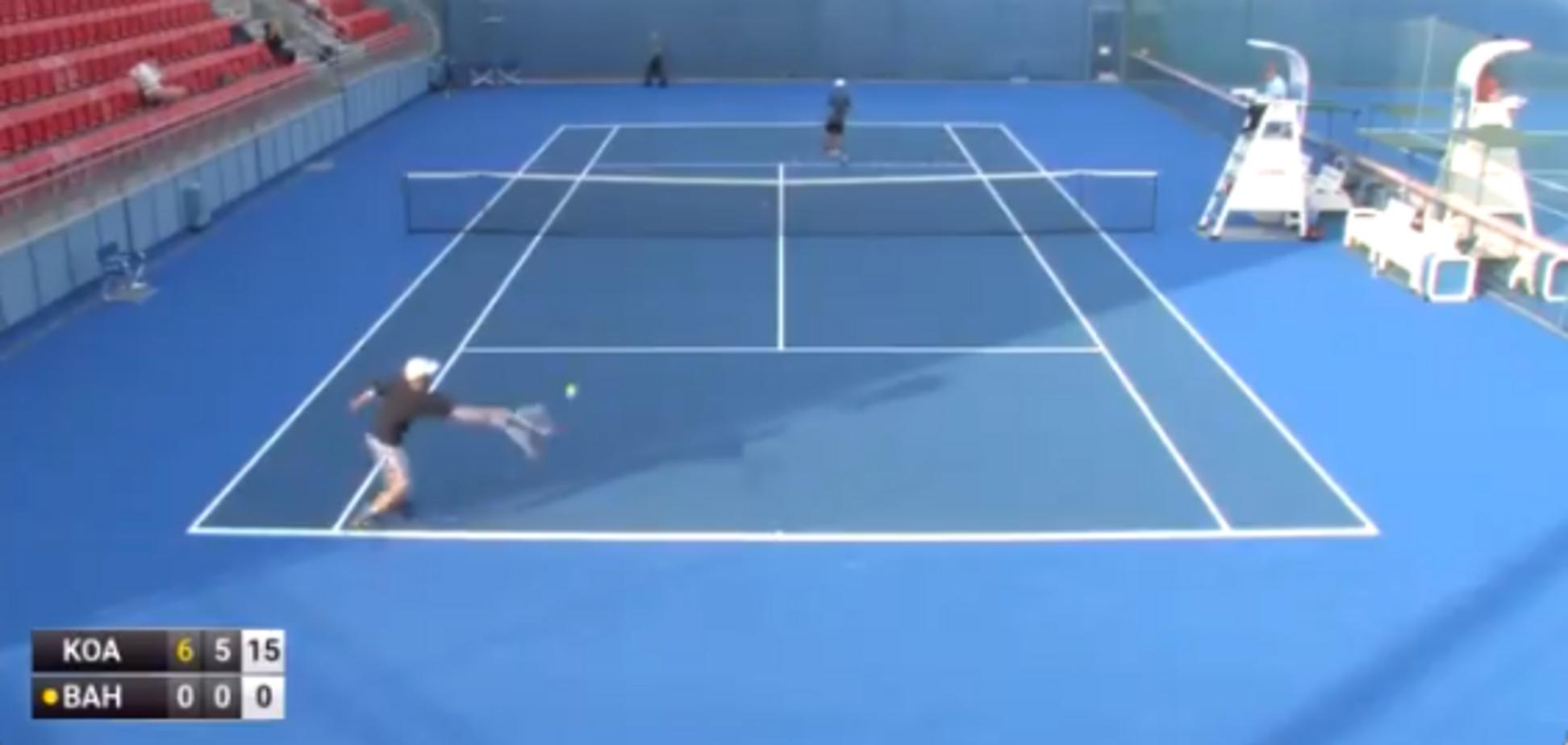Артем Багмет на турнірі ITF