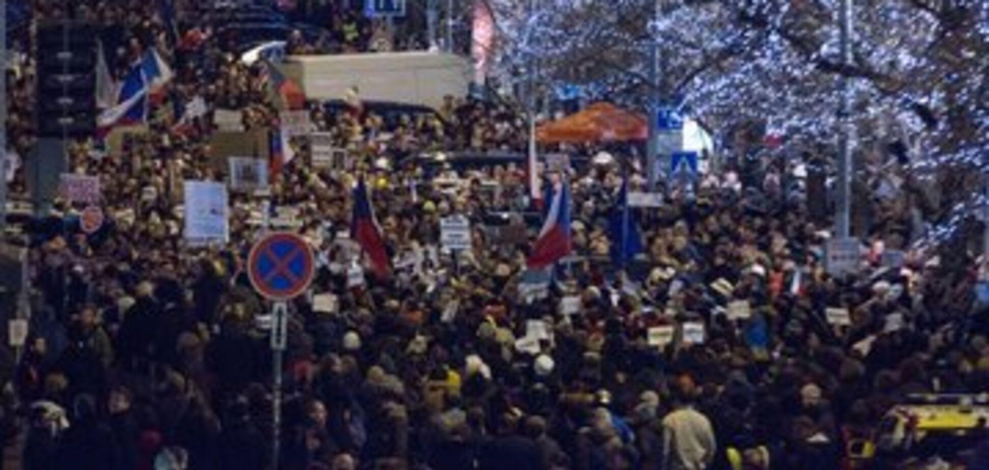 В Чехии разгорелись протесты против Бабиша