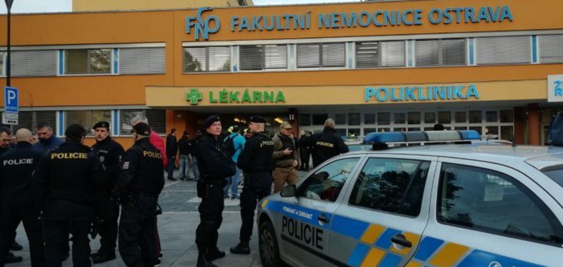 У Чехії трапилася стрілянина в лікарні: шестеро загиблих