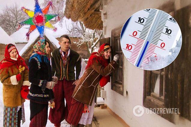 Синоптики прогнозируют мороз и снег на Рождество в Украине