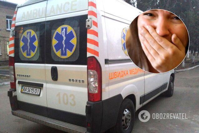 У Києві грабіжниця випала з вікна