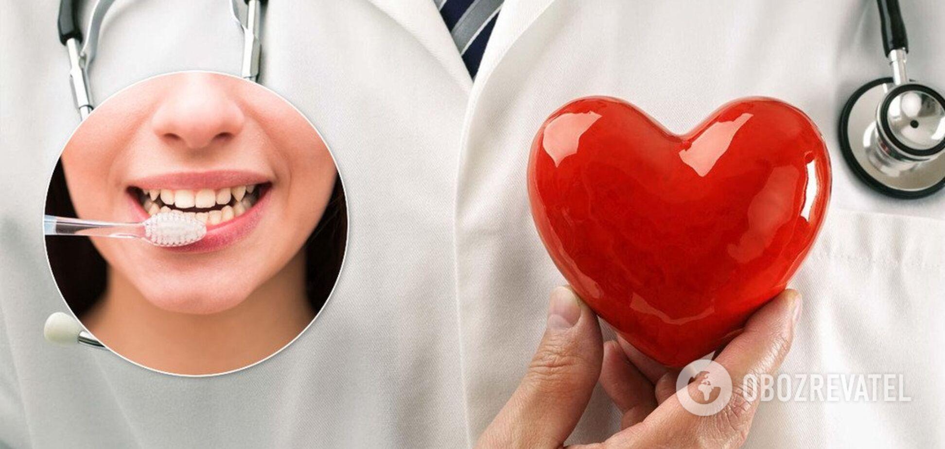 Чистите зубы, чтобы защитить сердце