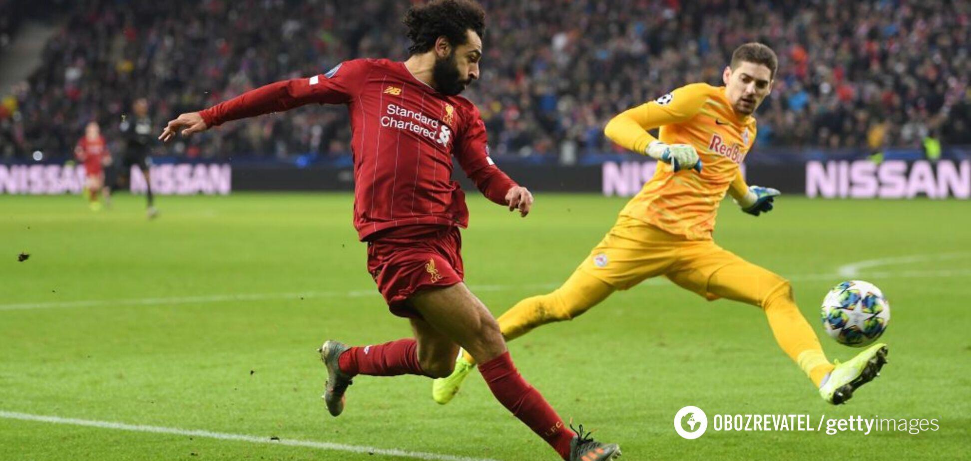 Салах забив феноменальний гол у Лізі чемпіонів