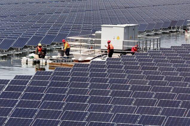 Установка сонячних панелей