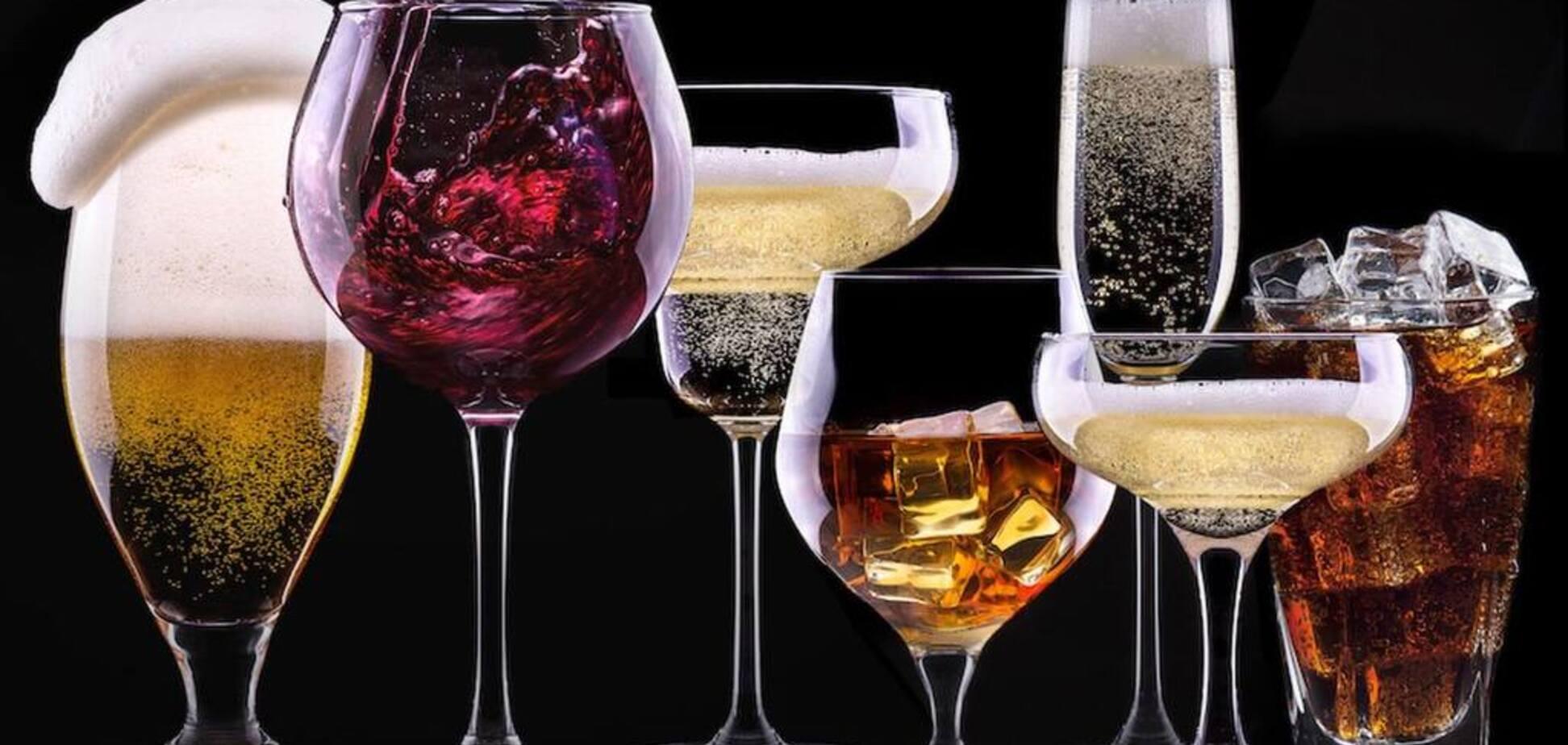 Алкоголь раптово пов'язали з раком