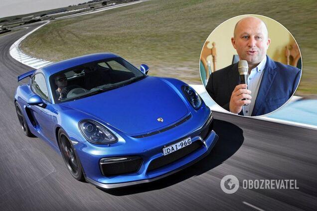 Владимир Цабак и Porsche Cayman 2015