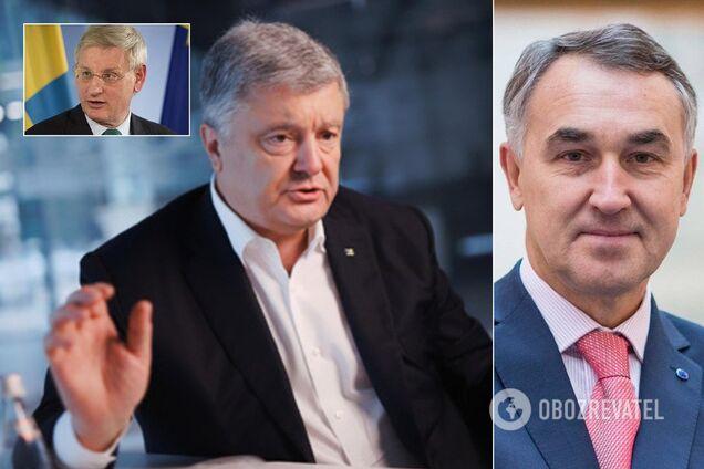 Пятрас Ауштрявичюс выразил свою обеспокоенность из-за открытия нового производства против Порошенко