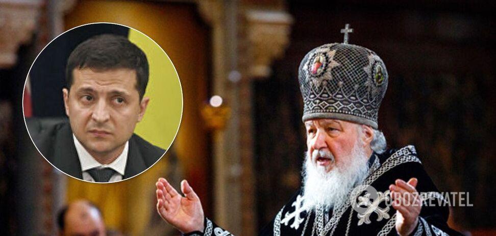 'Давление уменьшилось!' Патриарх Кирилл внезапно подыграл Зеленскому