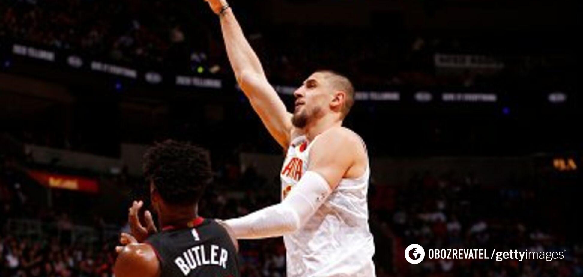 Українець Лень провів драматичний матч у НБА
