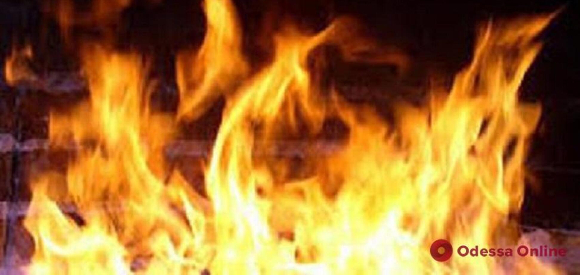 Вогняна напасть: у пожежі під Одесою загинула людина