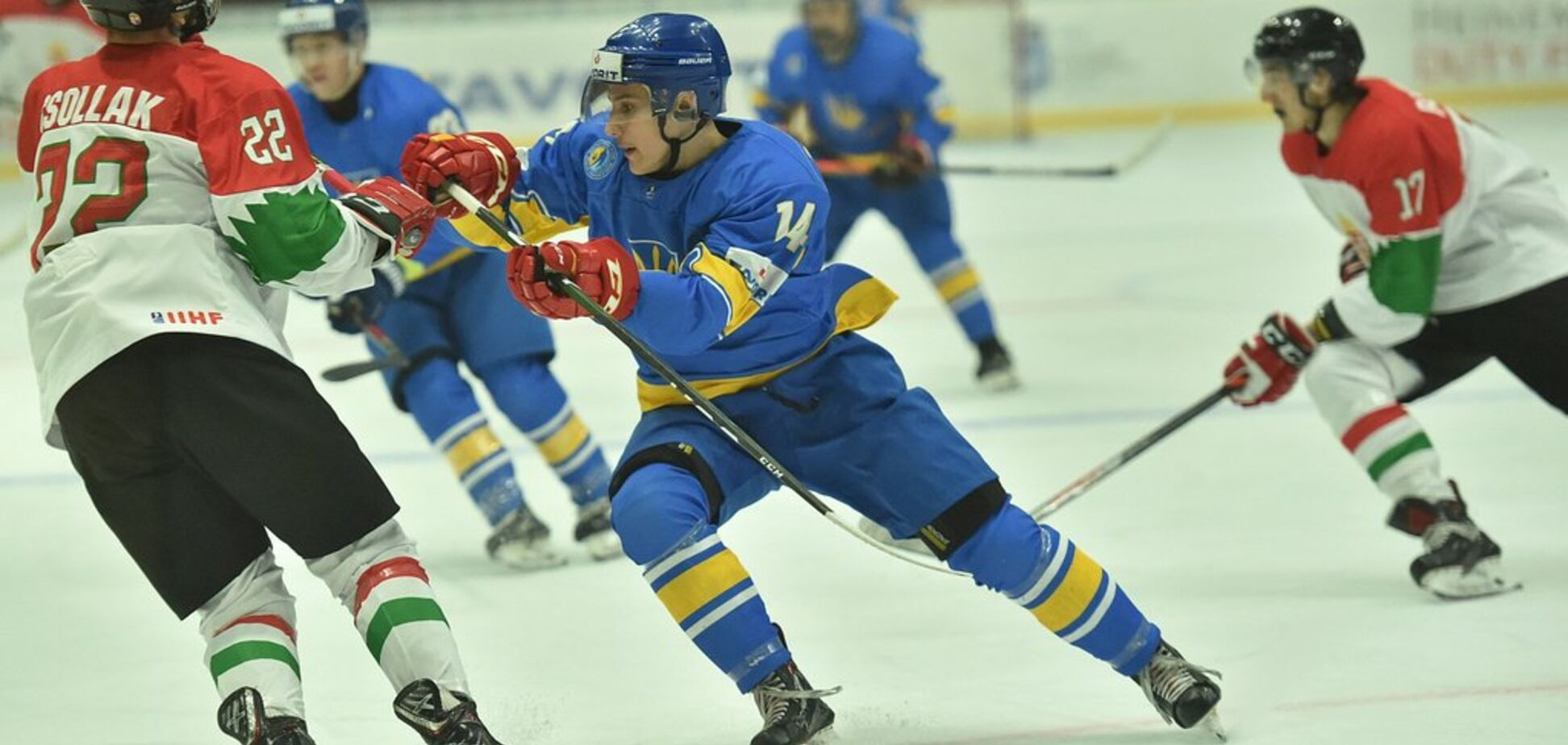 Молодежная сборная Украины проиграла на старте чемпионата мира по хоккею
