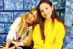 Юлия Началова и дочь Вера