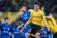 Украинский клуб занял последнее место и вылетел из Лиги Европы