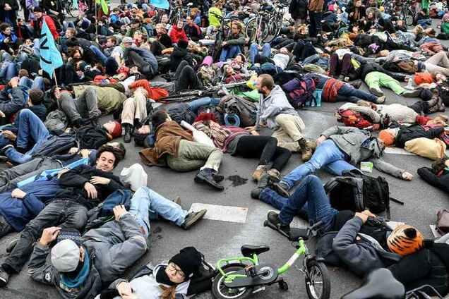 Забастовка в Германии