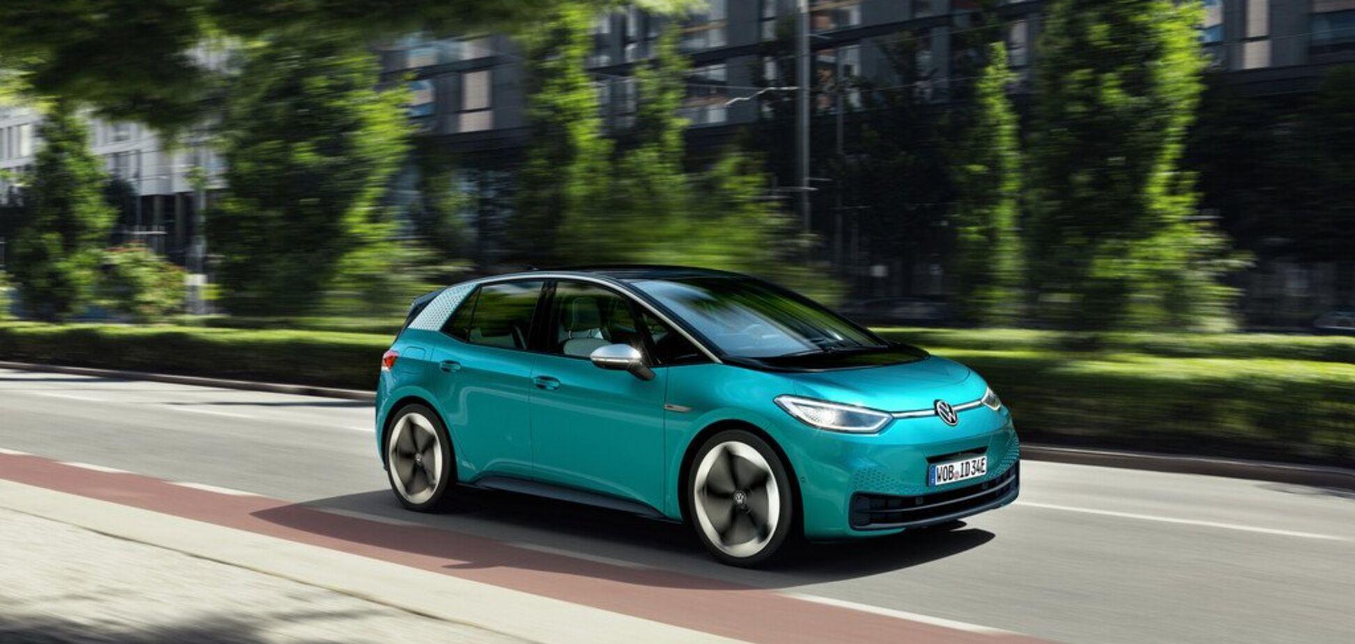 Электромобиль Volkswagen ID.3 получил свой голос