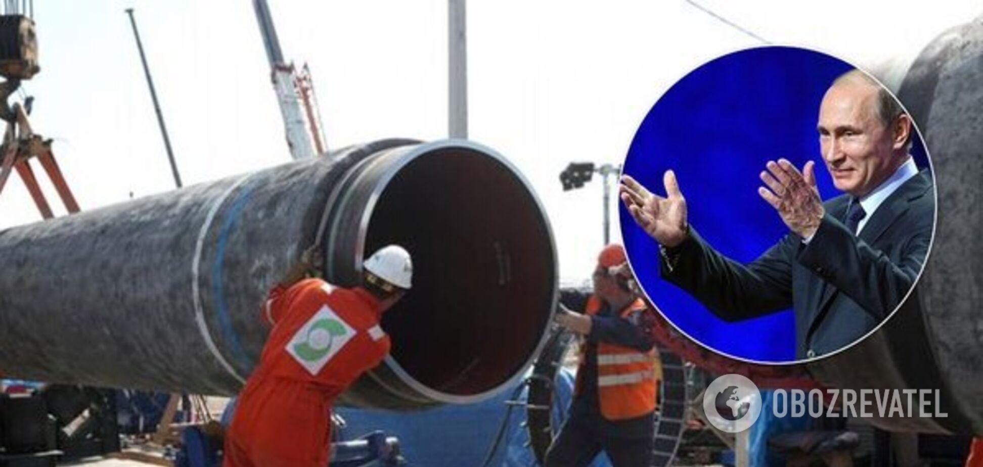 'Выкручивают руки!' Россия забила тревогу из-за удара США по 'газопроводу Путина'