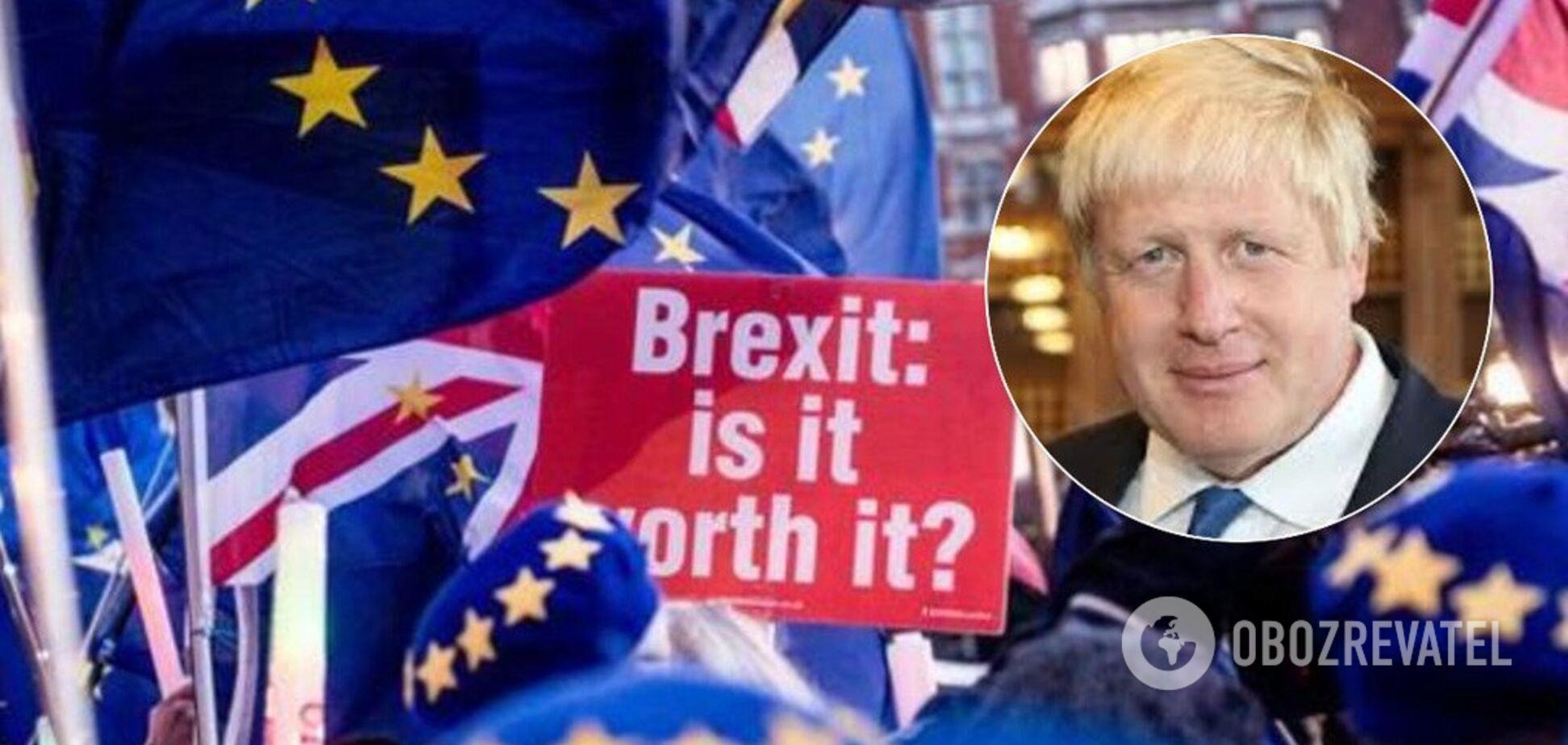Борис Джонсон подписал закон о Brexit