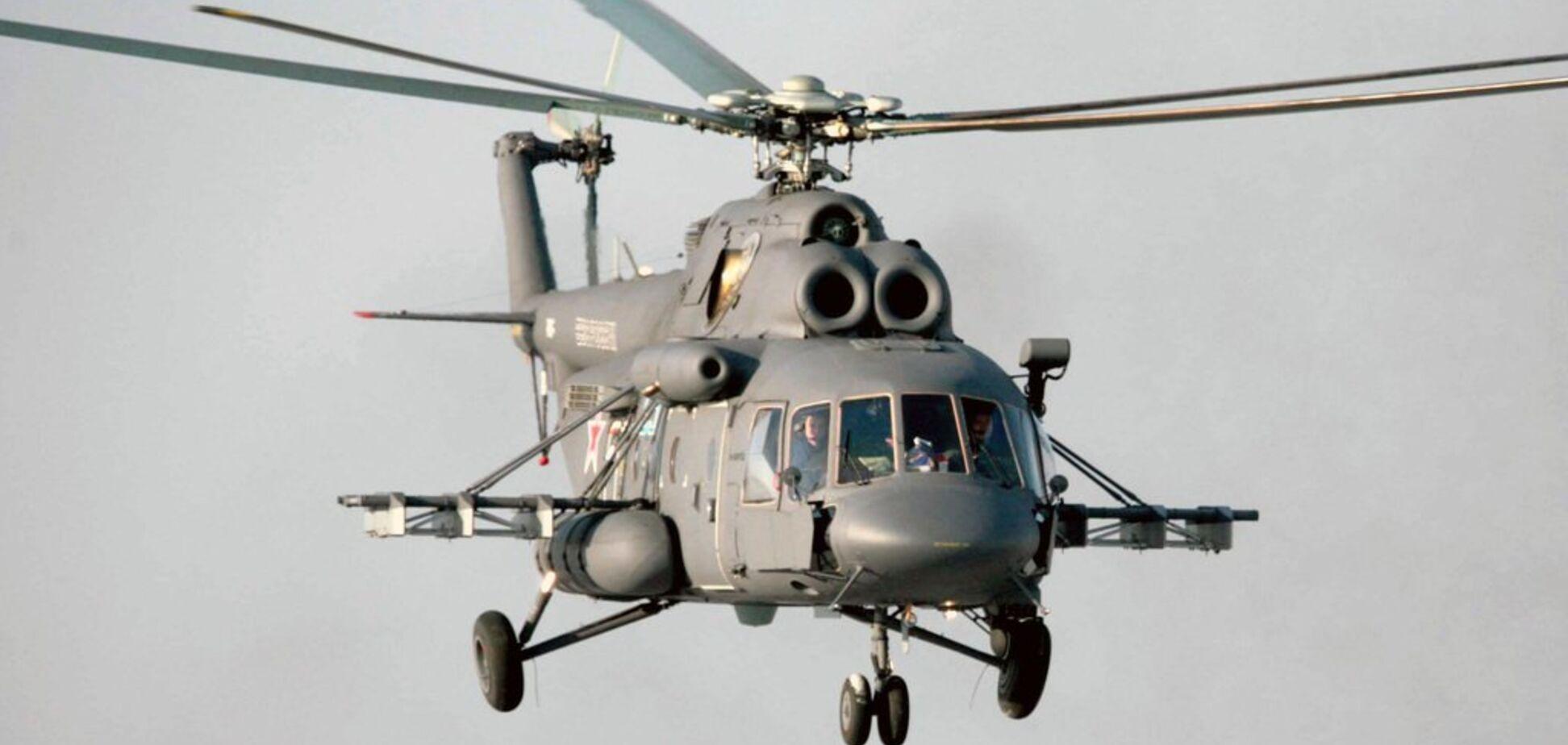 У Росії розбився вертоліт із військовими, всі загинули: перші подробиці й фото