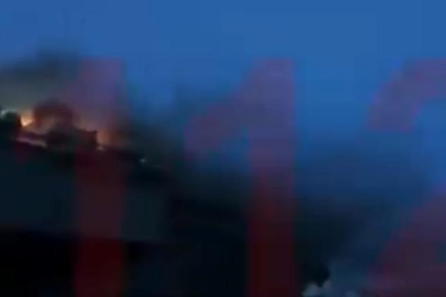 """У Росії загорівся крейсер """"Адмірал Кузнєцов"""""""