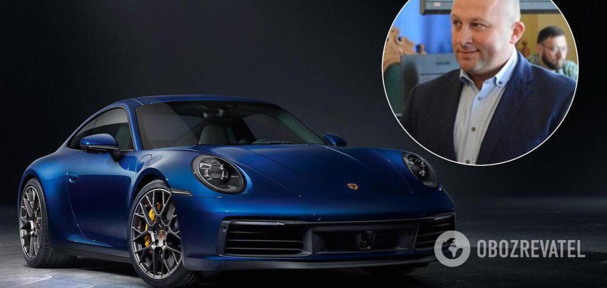 Porsche та Audi: начальник Львівської митниці 'засвітив' розкішний автопарк (відео)