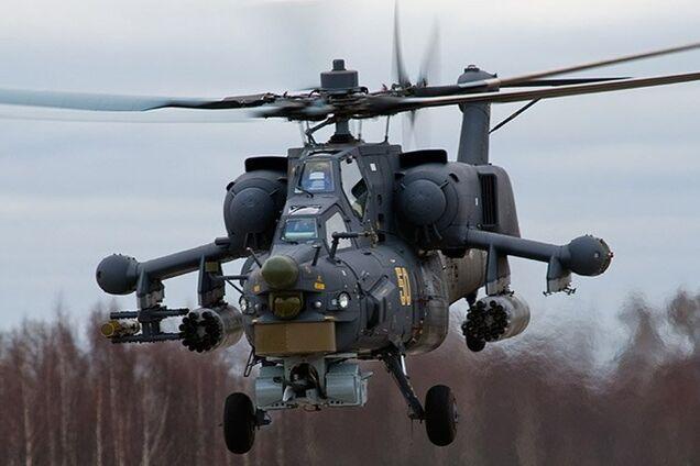 МИ-28 разбился в Краснодарском крае