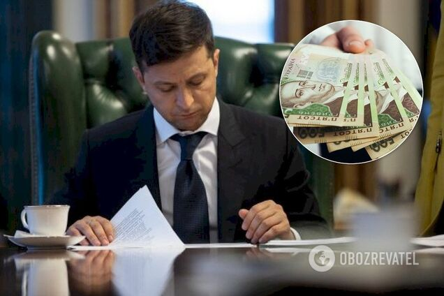 Президент Владимир Зеленский заявил о планах поднять заработные платы украинцев на уровень польских за время своей каденции