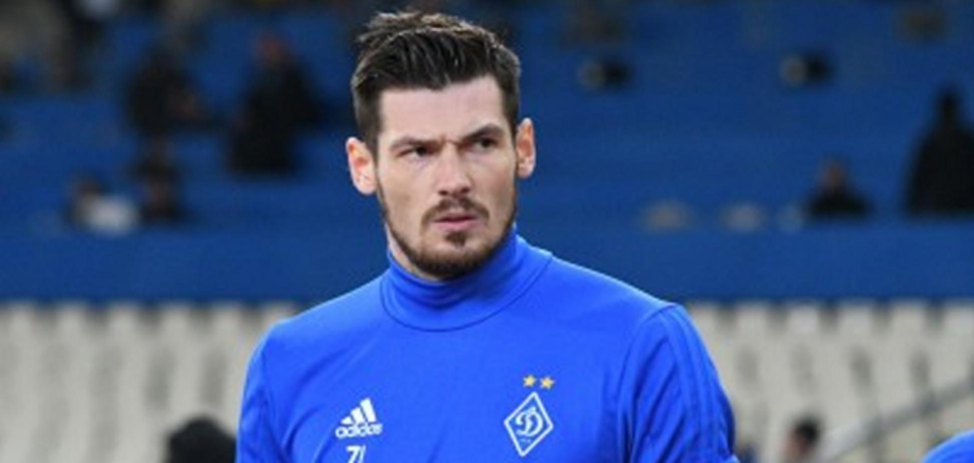 'Мне тоже х**во!' Вратарь 'Динамо' жестко осадил фанатов после фиаско в Лиге Европы