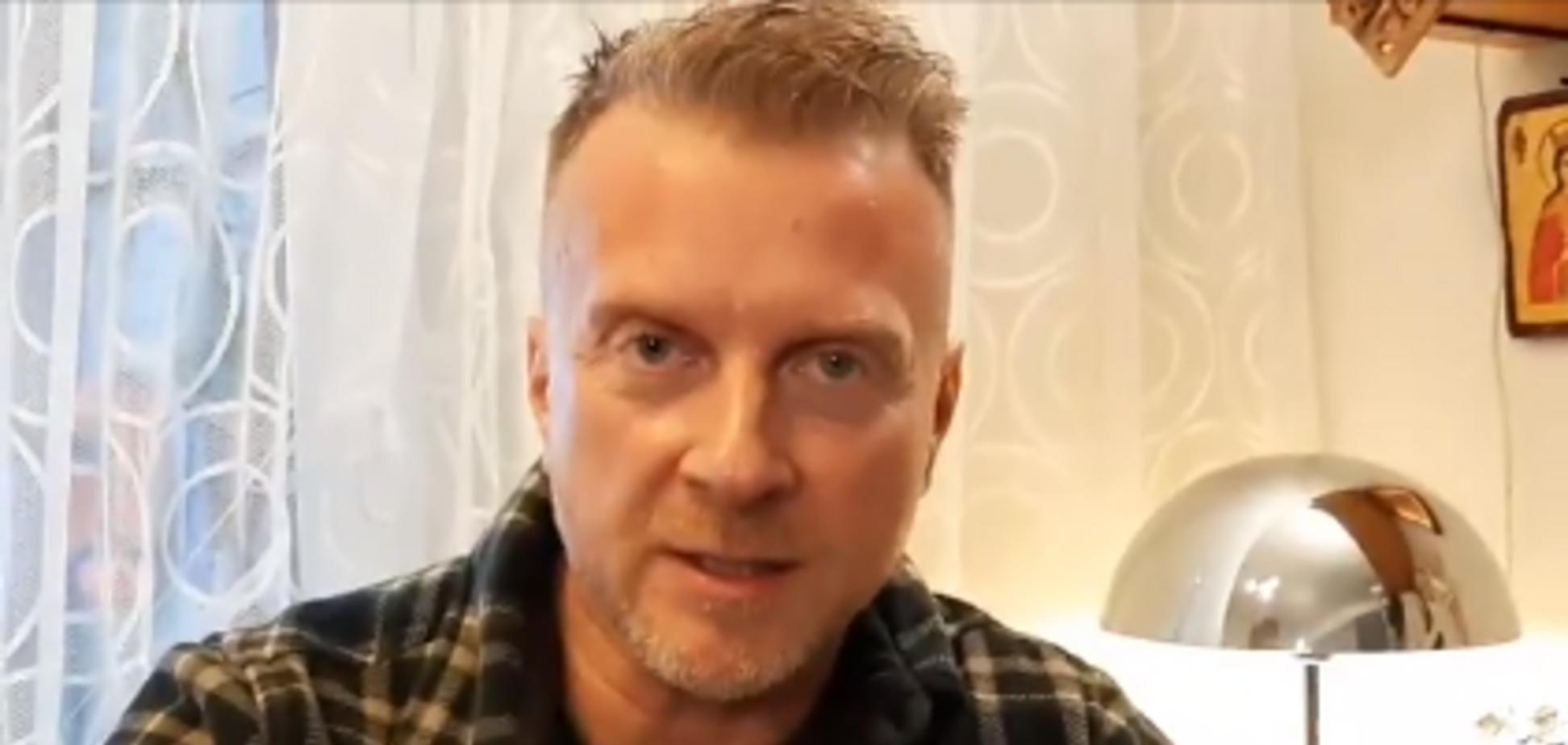Украинский телеведущий, актер и писатель Антин Мухарский