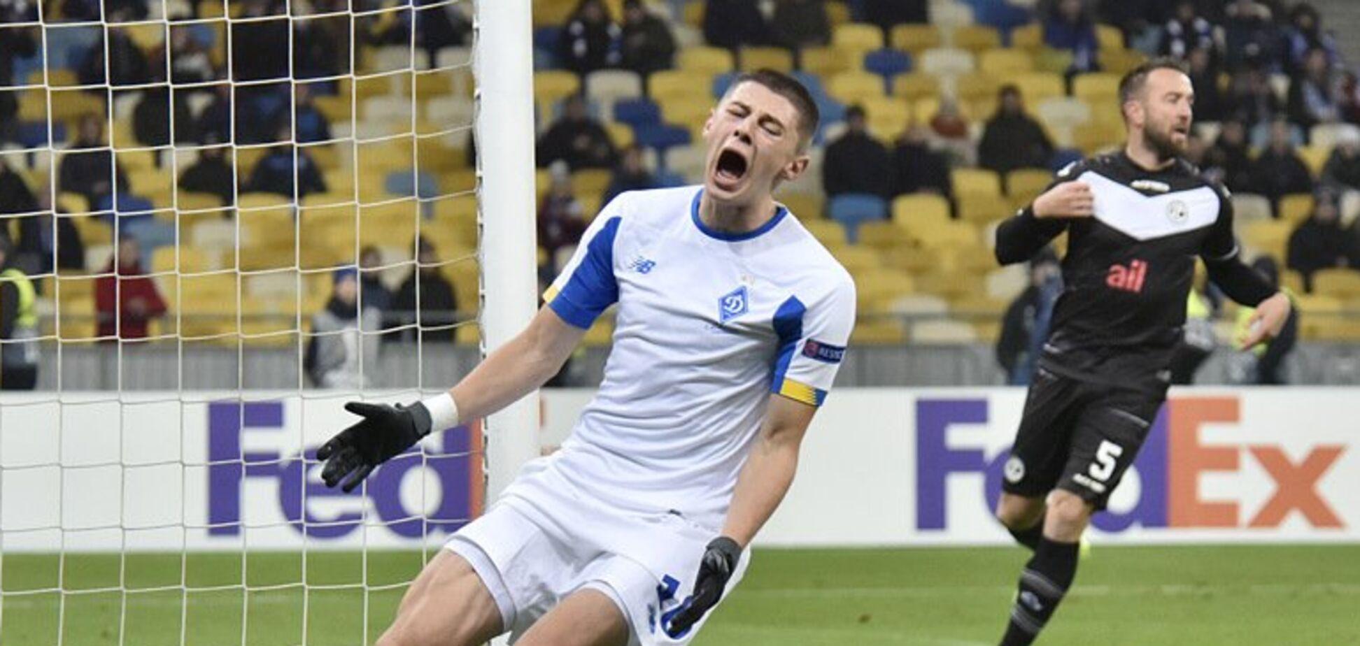 За 8 років: 'Динамо' повторило свій антирекорд єврокубків