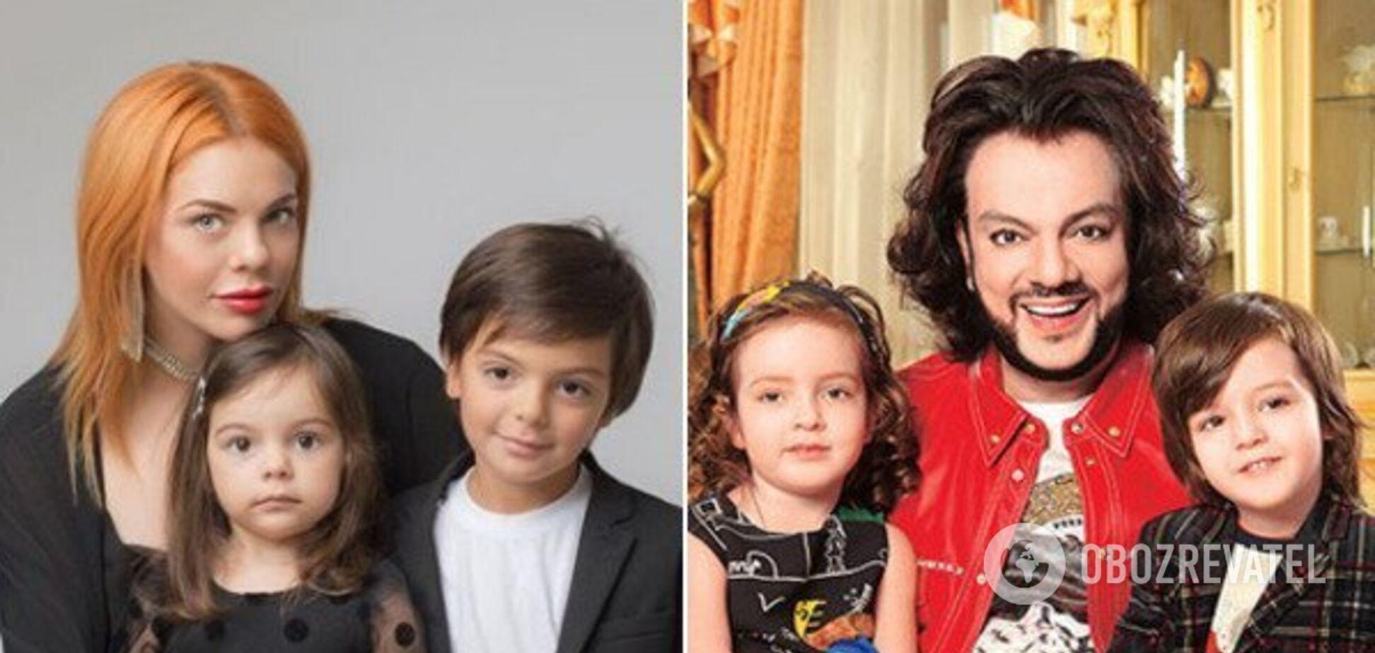 Как две капли воды: названо топ-3 сходства между детьми Киркорова и Стоцкой
