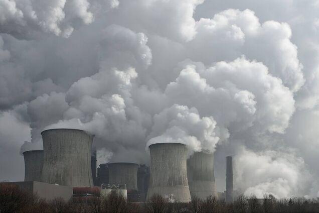 Иллюстрация загрязнения воздуха