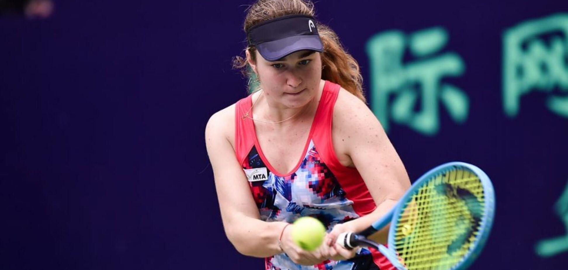 17-летняя украинская теннисистка установила супердостижение в Дубае