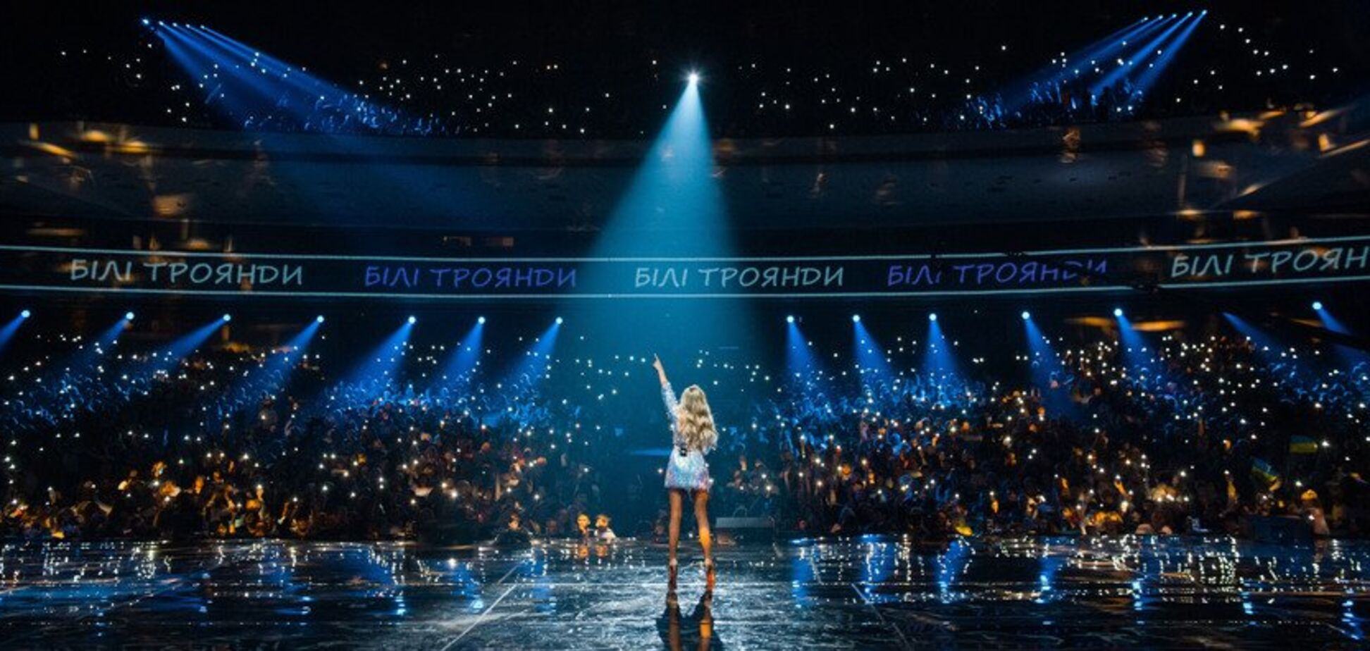 Ирина Федишин в рамках подготовки к шоу в Киеве презентовала новое видео 'Первый снег' на слова Сосюры