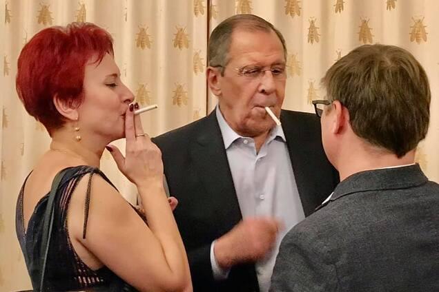 Сергей Лавров на корпоративе