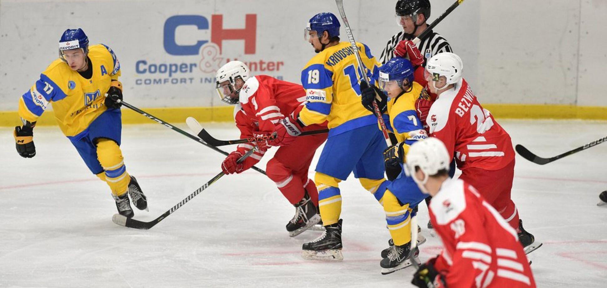 Україна здобула розгромну перемогу на чемпіонаті світу з хокею U-20