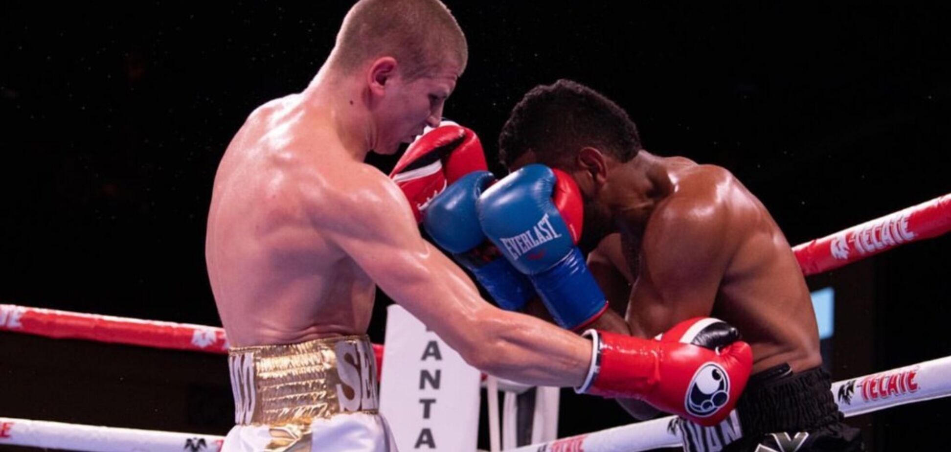 Непобедимый украинский боксер выиграл бой эффектным нокаутом - опубликовано видео