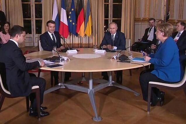 На нормандском саммите стороны не подписали ни одного документа