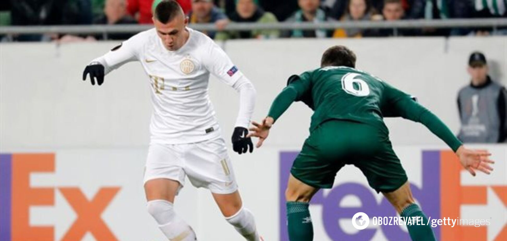 Український футболіст забив приголомшливий переможний гол з 25 метрів